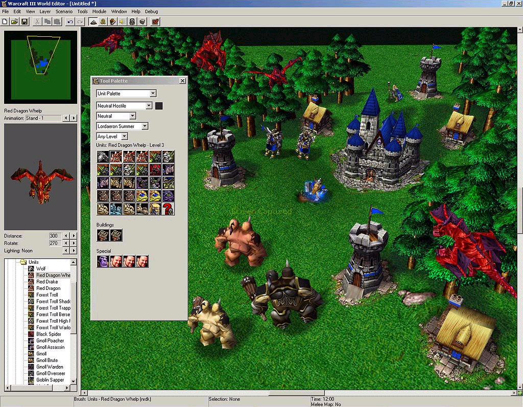 SamWise dans l'éditeur.  Screenshot envoyé par Lalgore.
