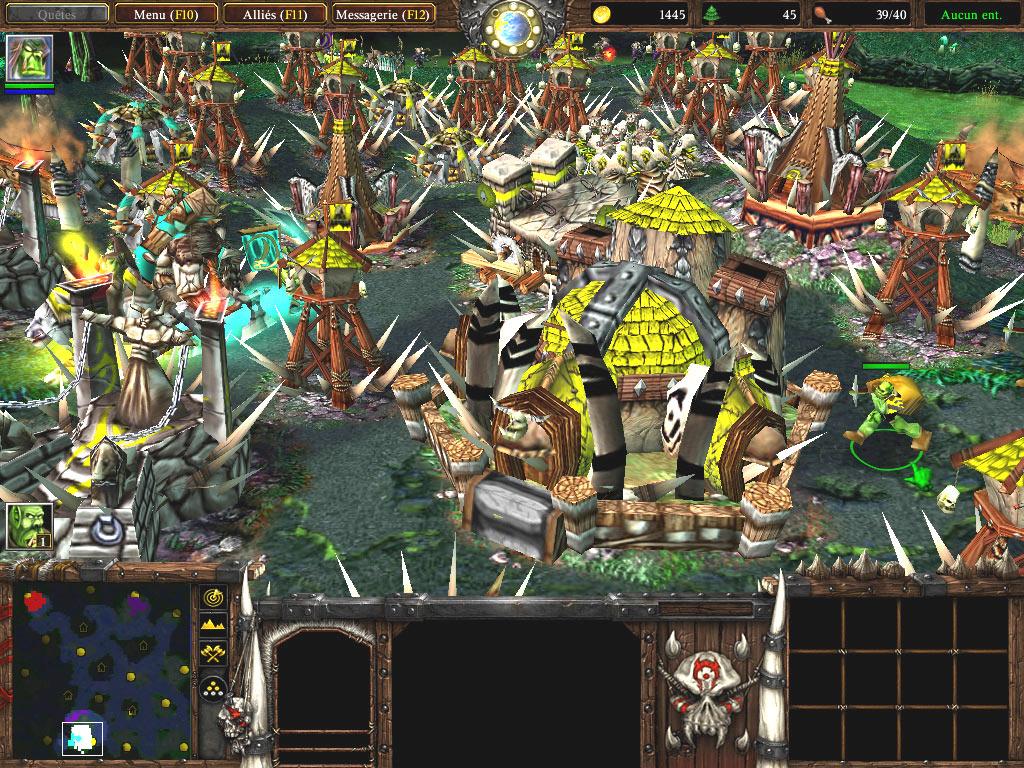Une défense de la mort ;)  Screenshot envoyé par nightmareX.