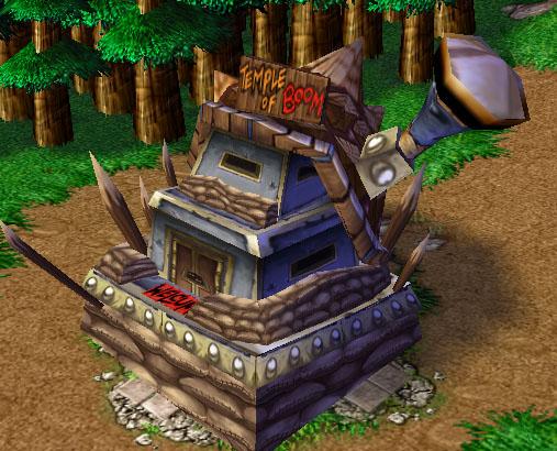 Screenshot d'un Goblin Laboratory vu de face