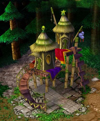 Screenshot d'un Goblin Merchant vu de face