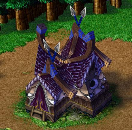 Screenshot du Hunter's Hall vu de face