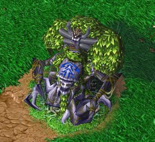 Screenshot du Tree of Life enraciné vu de haut