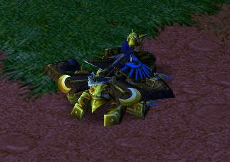 Screenshot du Ballista vue de face