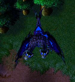 Screenshot du Chimaera vu de haut