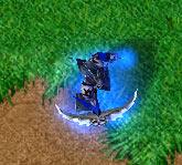 Screenshot du Demon Hunter de haut