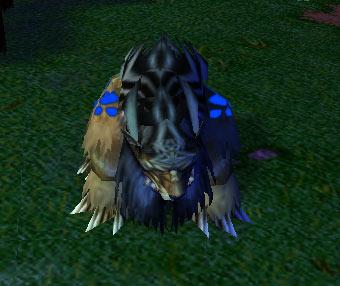 Screenshot du Druid of the Claw sous la forme d'un ours vu de face