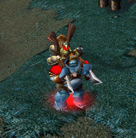 Screenshot de l'Alchimiste vu de face.