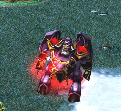 Screenshot du Pit Lord vu de face