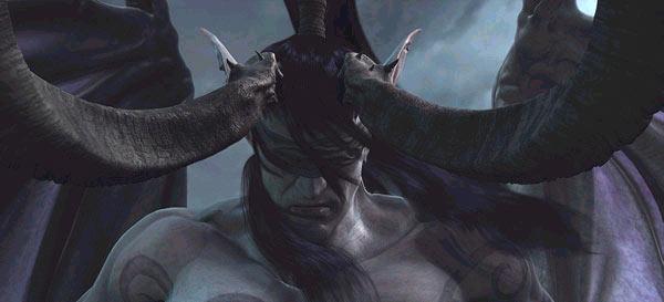 Screenshot de la vidéo de Frozen Throne présentée lors de l'E3 2003
