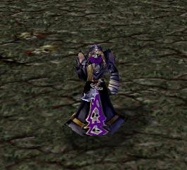 Screenshot de l'Acolyte vu de face
