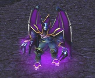 Screenshot du Dread Lord vu de face