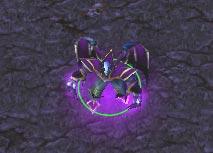 Screenshot du Dread Lord vu de haut