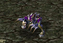 Screenshot de la Goule vue de face