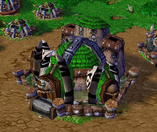 Screenshot du Fortress vu de face