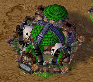 Screenshot du Fortress vu de haut
