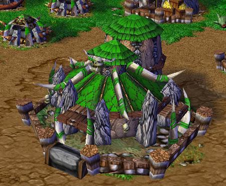 Screenshot du Stronghold vu de face