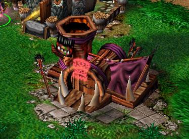 Screenshot du Voodoo Lounge vu de face