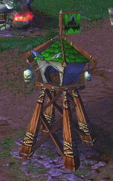 Screenshot du Watch Tower vu de face