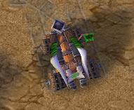 Screenshot de la Catapulte vue de haut