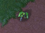 Screenshot du Péon vu de haut