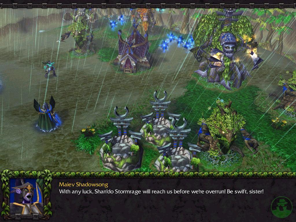 Screenshot de l'extension de Warcraft III (avril 2003)