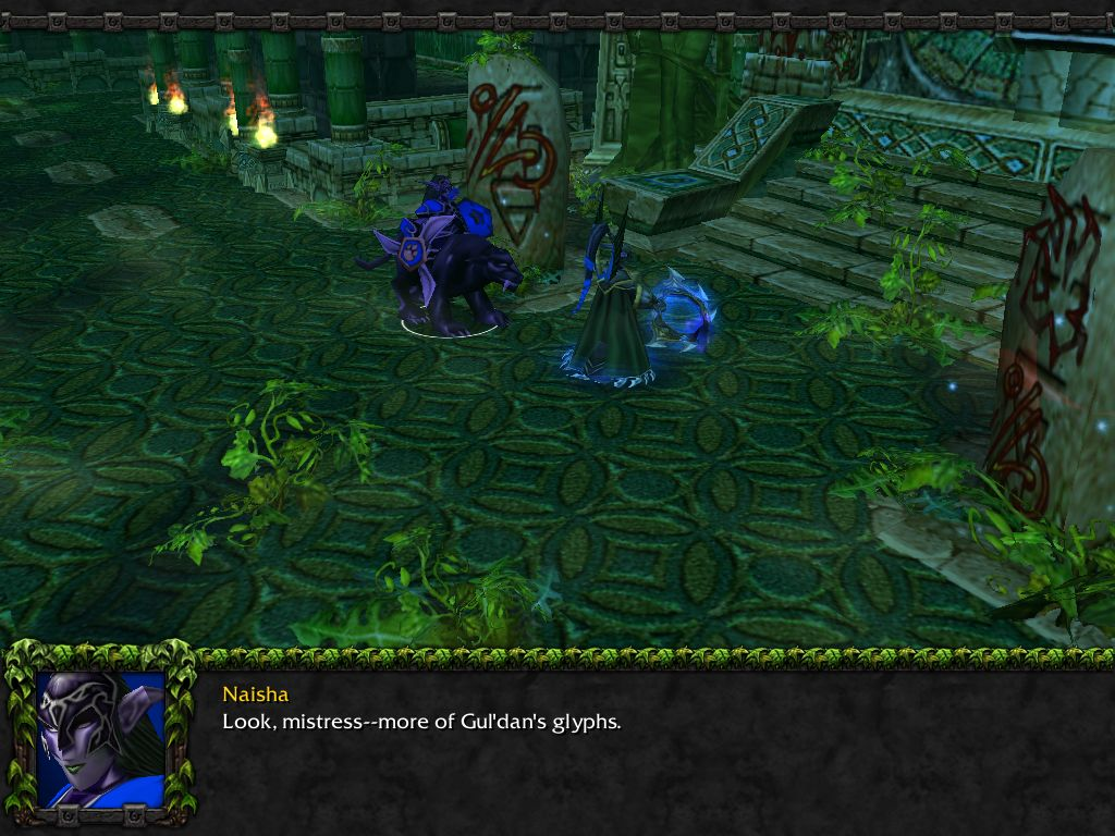 Screenshot de l'extension de Warcraft III (juillet 2003)