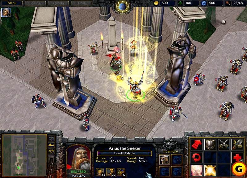 Screenshot d'octobre 2001.