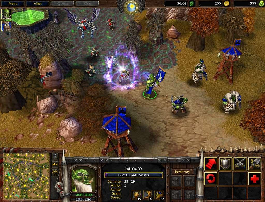 Screenshot de septembre 2001.