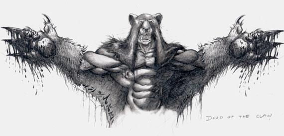 Concept Art de Warcraft III.