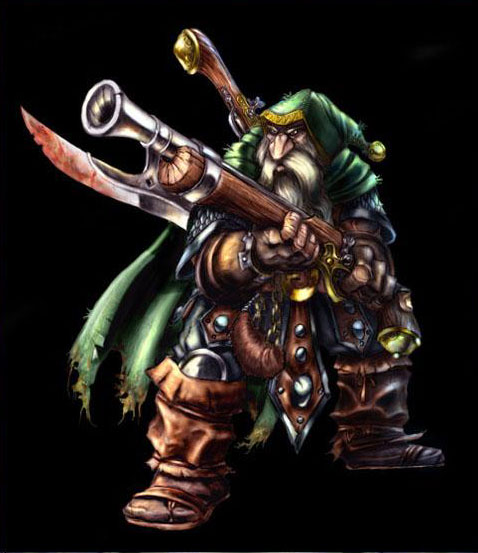 Concept Art de Warcraft III.