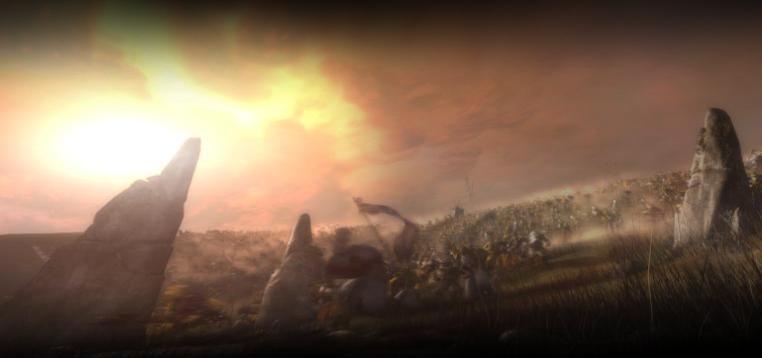 Image de la page d'accueil du site de Blizzard.