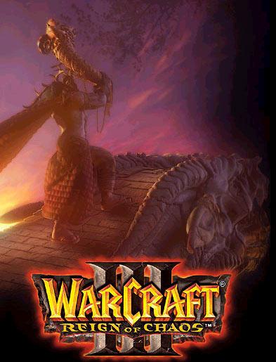 Image de la page d'accueil du site de Blizzard (décembre 2002).