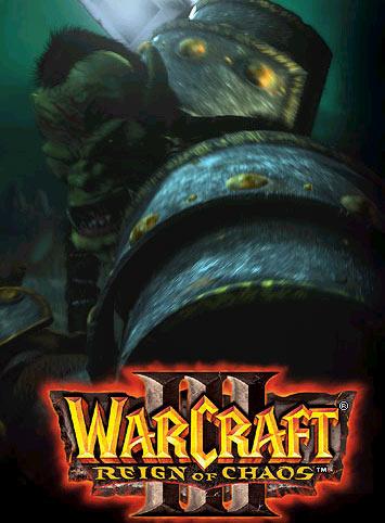 Image de la page d'accueil du site de Blizzard (janvier 2003).
