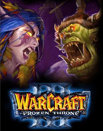 Image de la page d'accueil de Blizzard (août 2004).