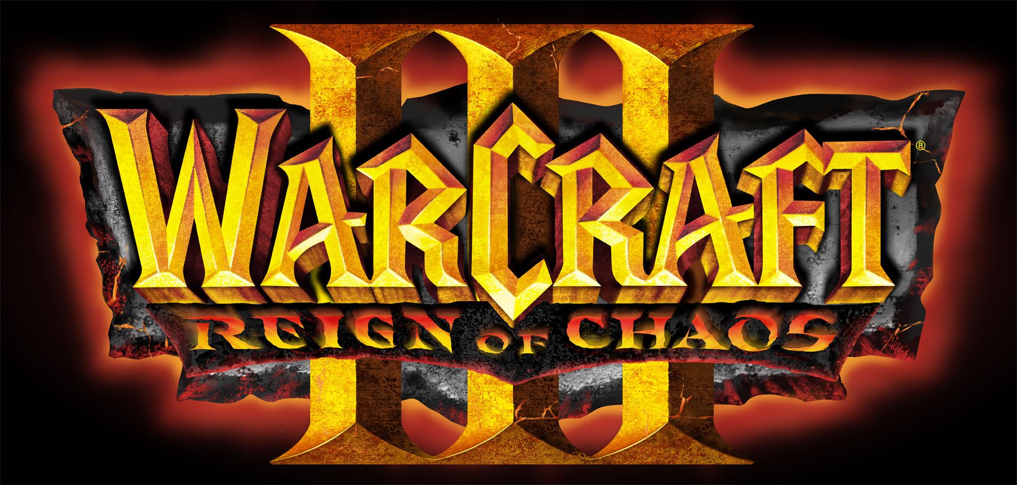 Logo de Warcraft III: Reign of Chaos.