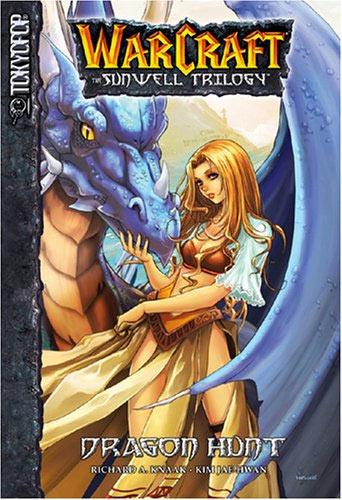 Couverture du manga Dragon Hunt, premier tome de la Sunwell Trilogy.