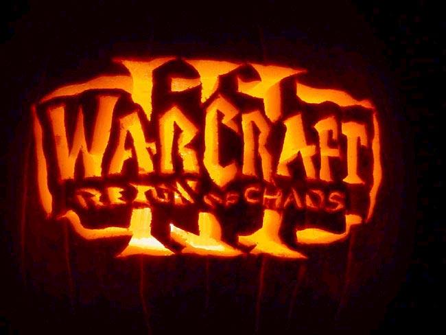 Image réalisée par Blizzard pour Halloween le 31 octobre 2001.