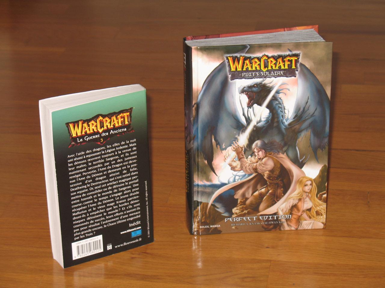 Edition spéciale de la trilogie du Puits Solaire, le 1er manga Warcraft.