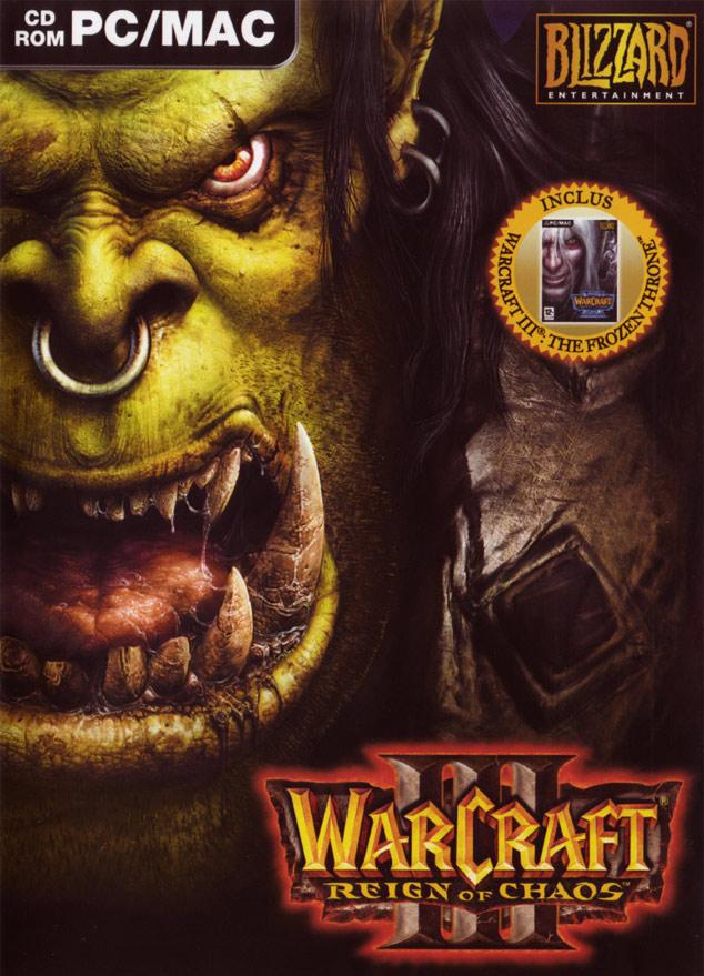 Pochette de Warcraft III Gold.