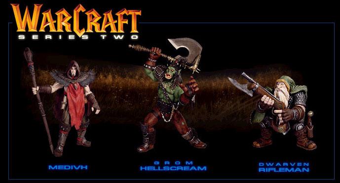 Les figurines de la Série 2, sorties en 2004.
