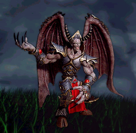 Figurines Tichondrius, sortie en 2003.