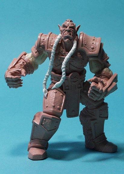 Figurine Thrall (jamais commercialisée).