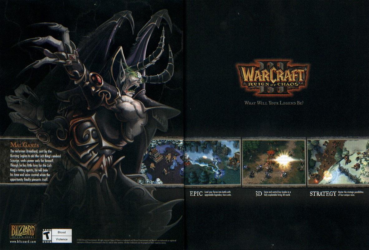 Publicité apparue dans le magazine US PC Gamer.