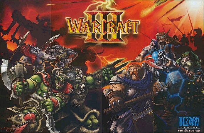 Poster offert par Blizzard dans certaines boîtes de jeu.