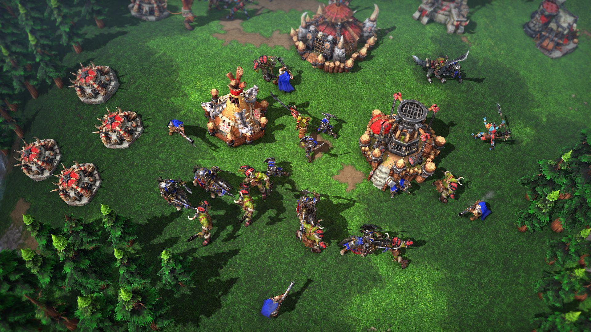 Screenshot de Warcraft III: Reforged.