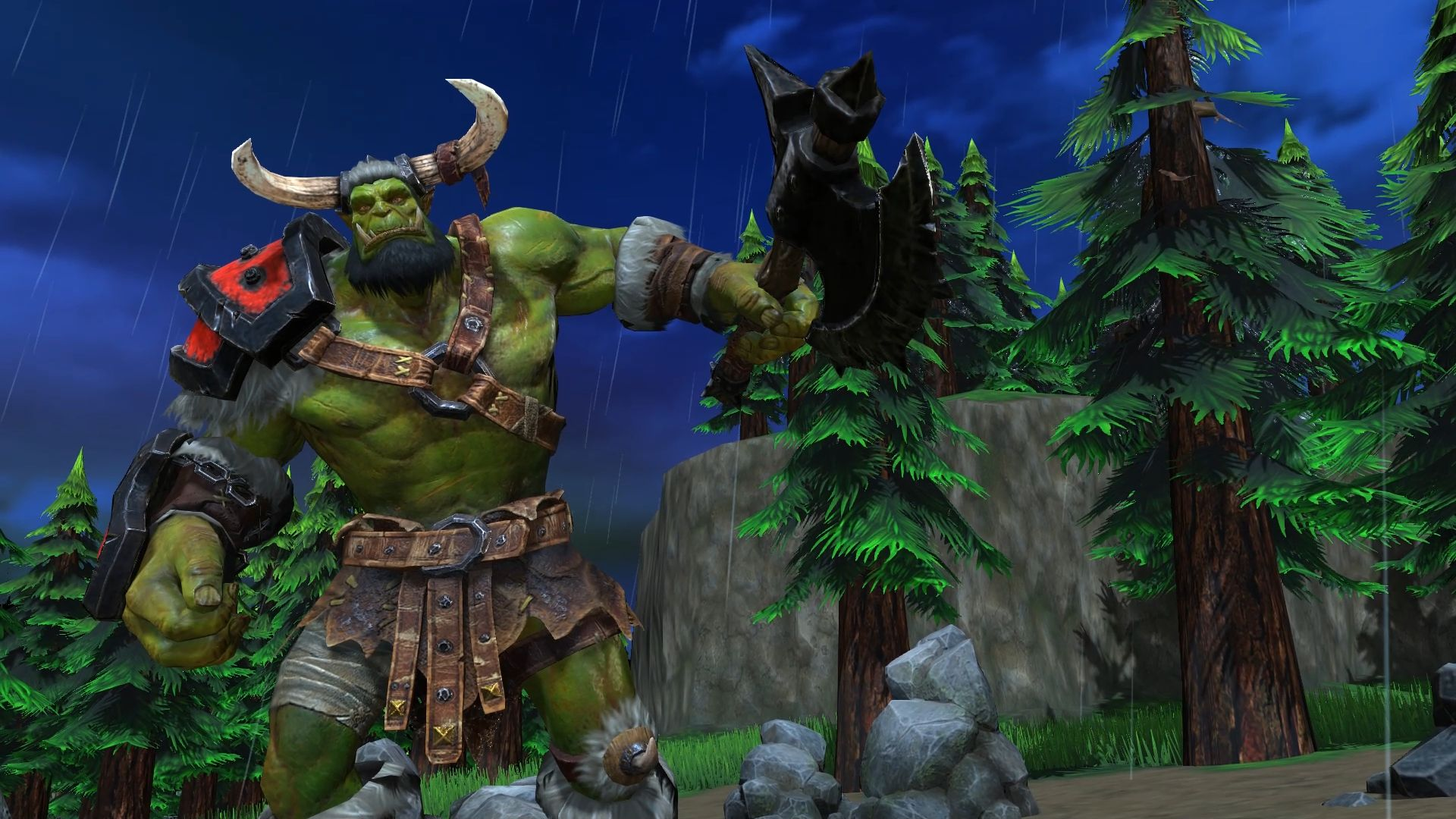 Screenshot de Warcraft III: Reforged.