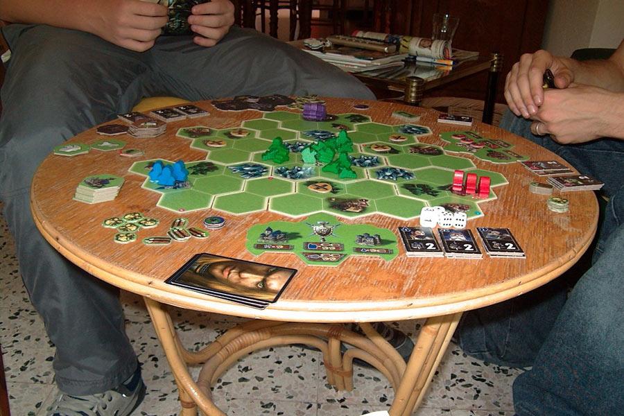 Warcraft III The Board Game.