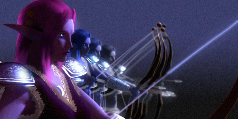 Image préparatoire du film The Sentinels, par Drizzt Do'Urden